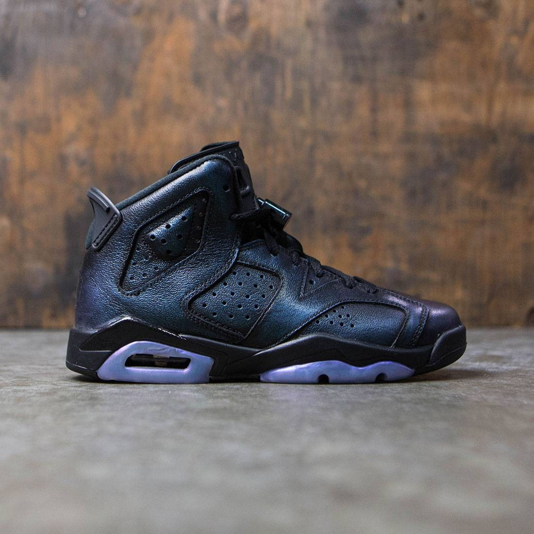 reputable site 91536 d2370 AIR JORDAN 6 RETRO AS BG Big Kids (black / black-white)