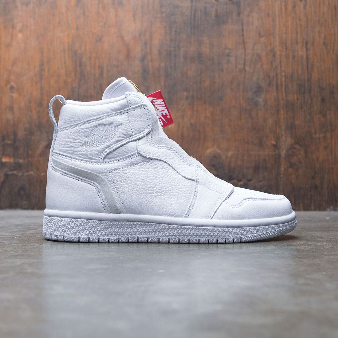 jordan women air jordan 1 high zip white white university red bb9f9ae40