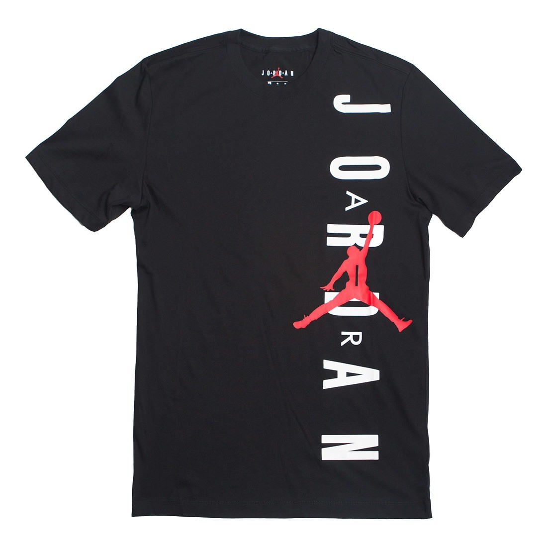 Jordan Men JSW TEE HBR VERTICAL Tee (black / gym red)
