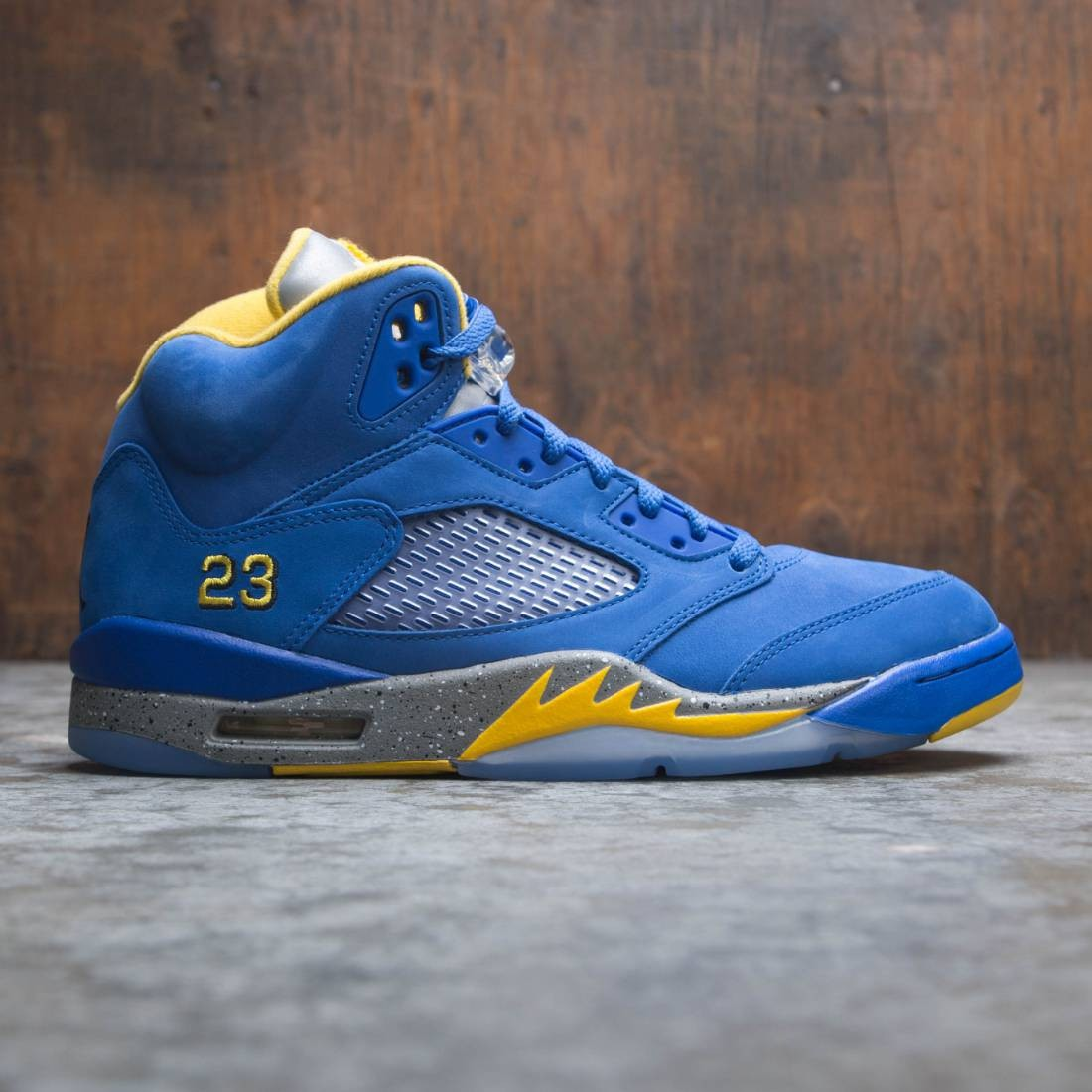 Air Jordan 5 Laney JSP Men (varsity royal / varsity maize)