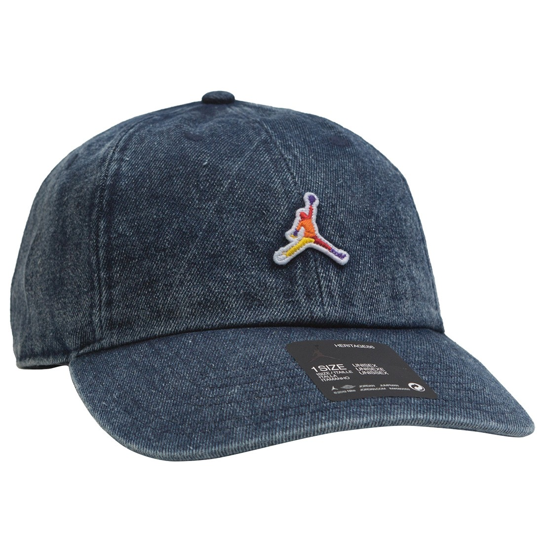Jordan Men Heritage86 Washed Denim Cap (battle blue)