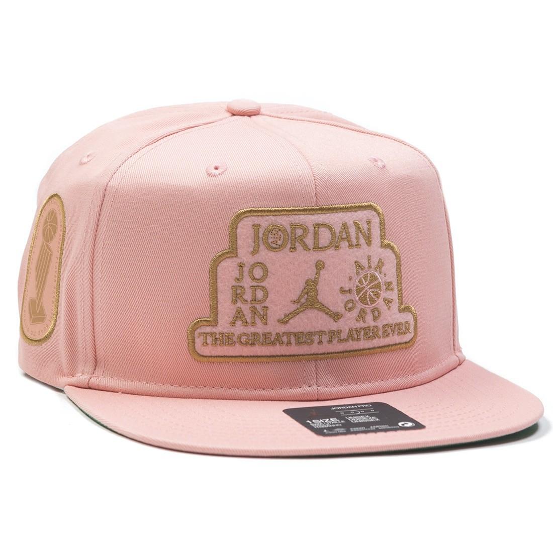 Jordan Men Pro Trophy Cap (coral stardust / pine green)