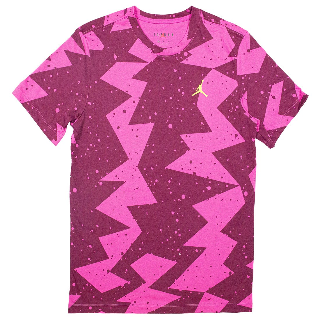 Jordan Men Printed Poolside Tee (active fuchsia)