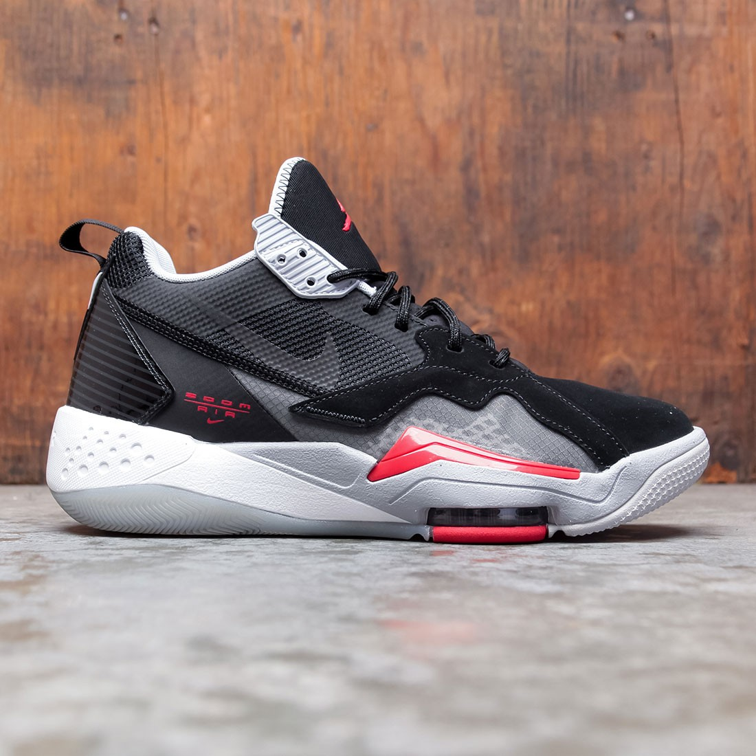 Jordan Men Jordan Zoom 92 (black / university red-anthracite-sky grey)