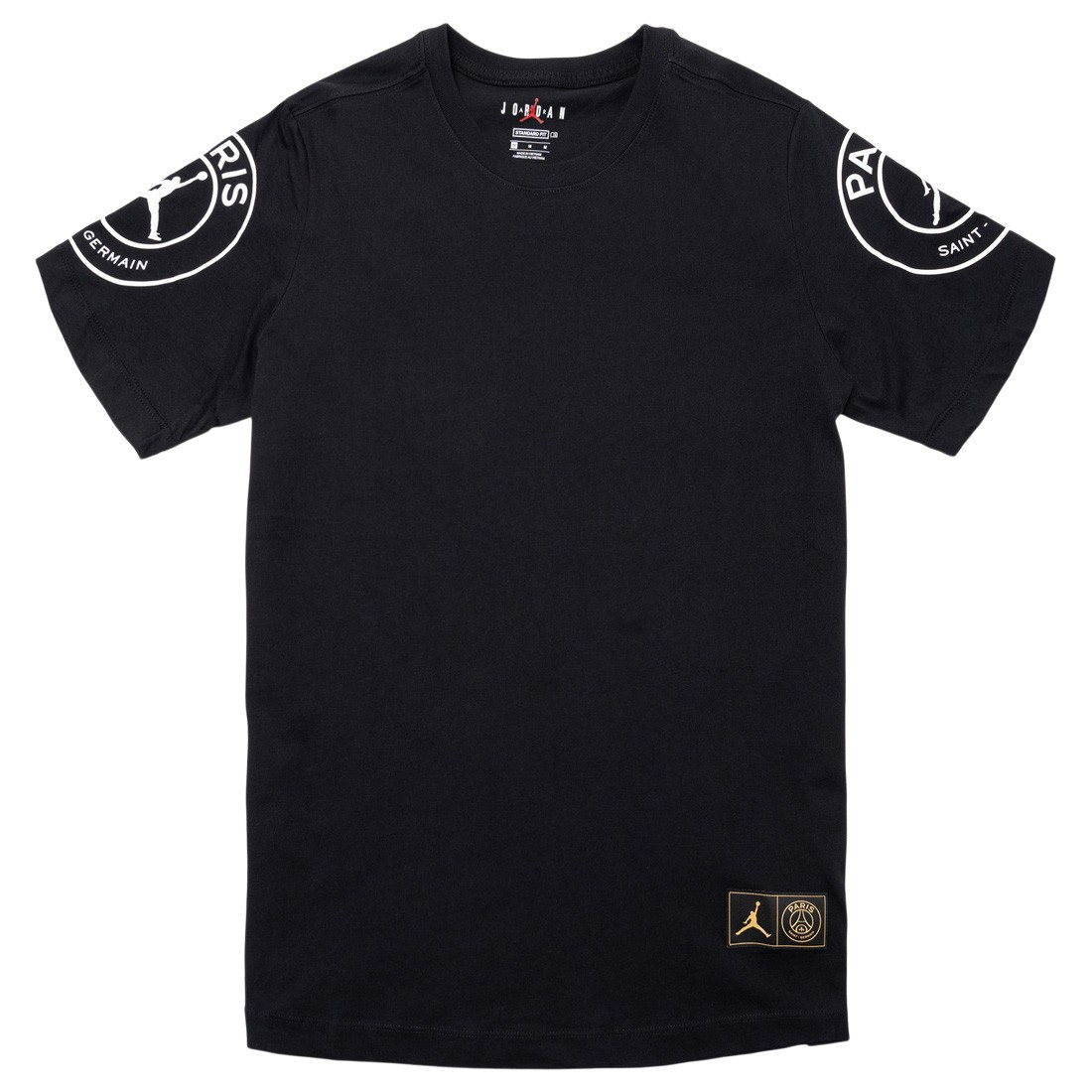 Jordan Men x Paris Saint-Germain Logo Tee (black)