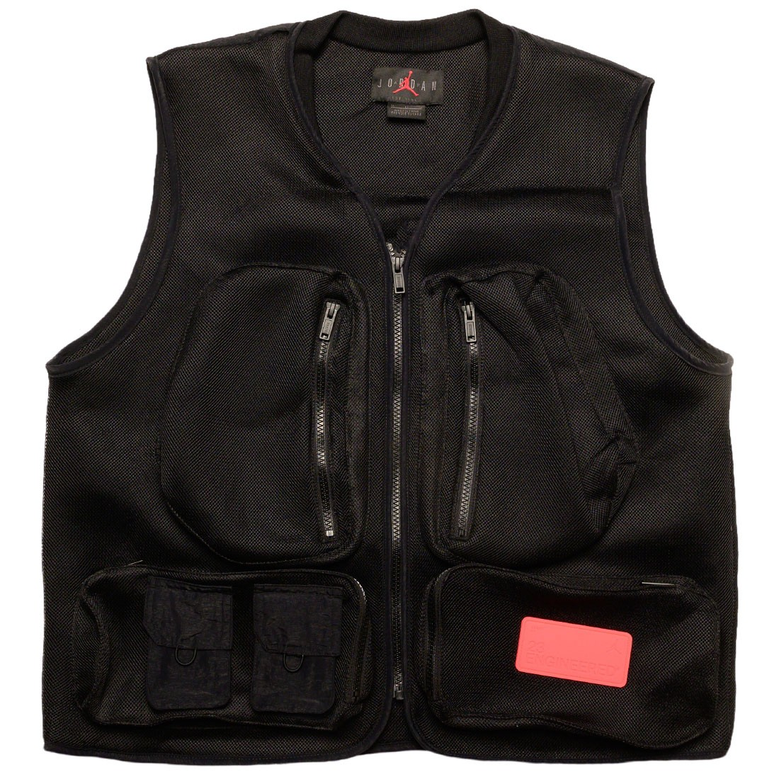 Jordan Men 23 Engineered Vest (black / infrared 23)