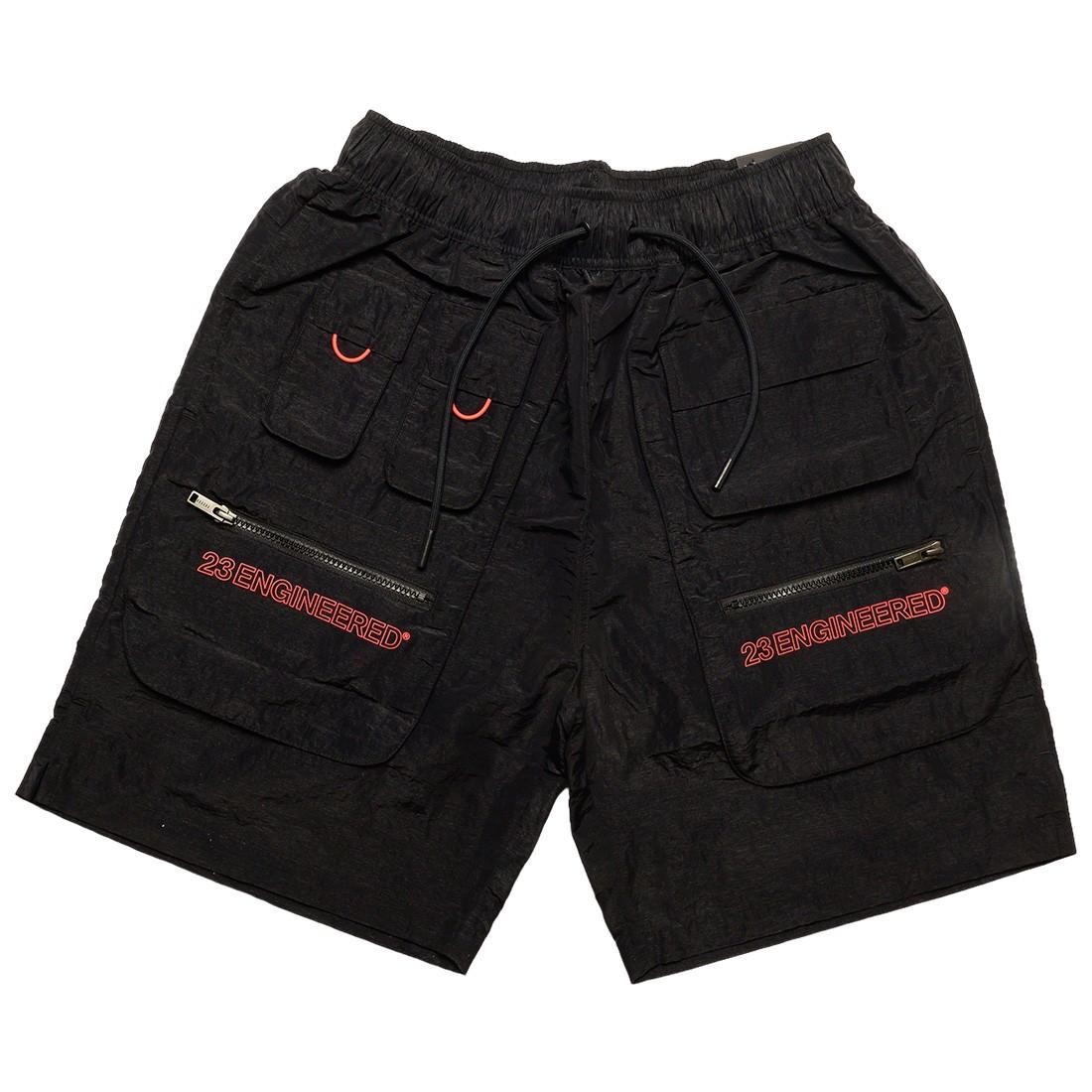 Jordan Men 23 Engineered Utility Shorts (black / infrared 23)