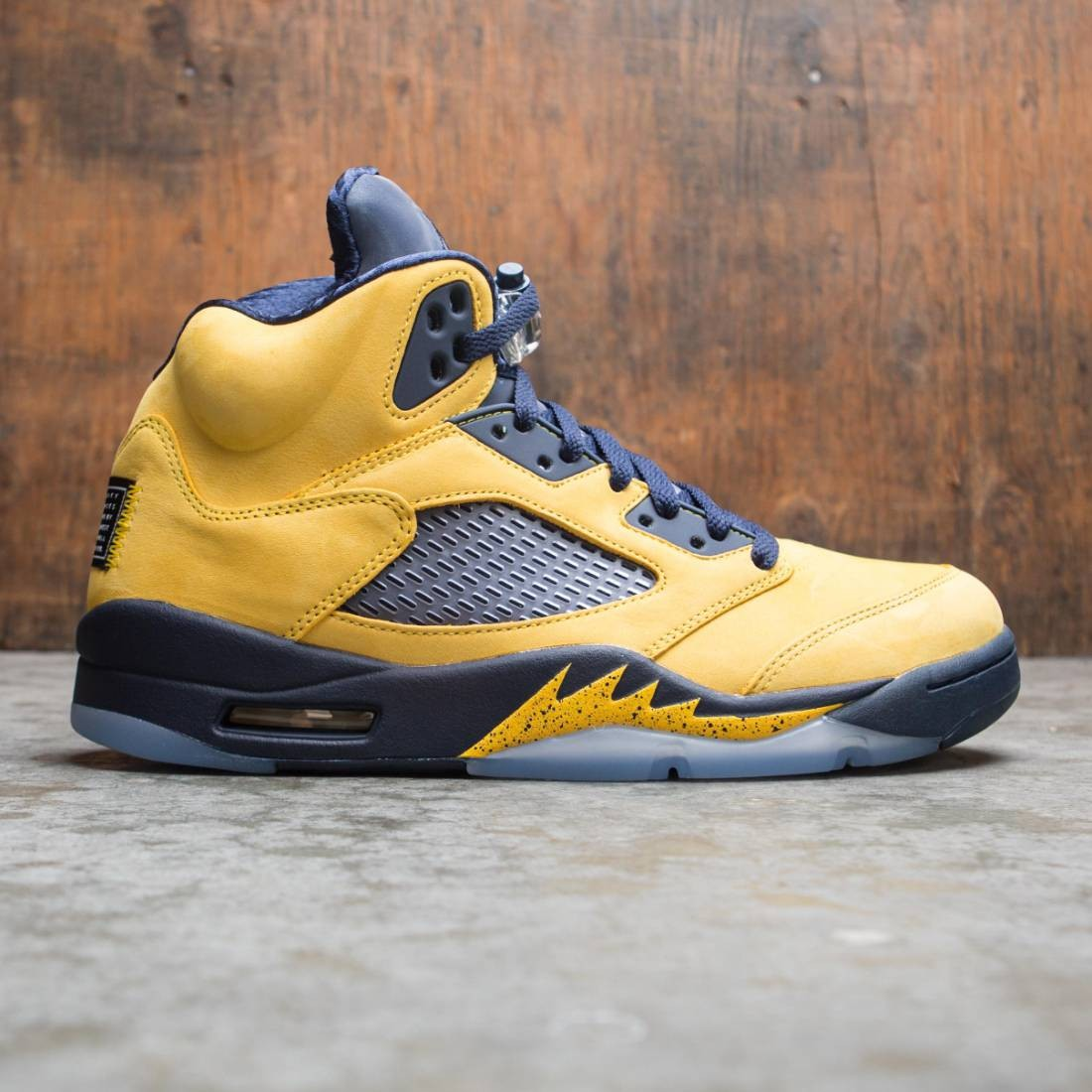 Air Jordan 5 Retro SE Men (amarillo / college navy-amarillo)