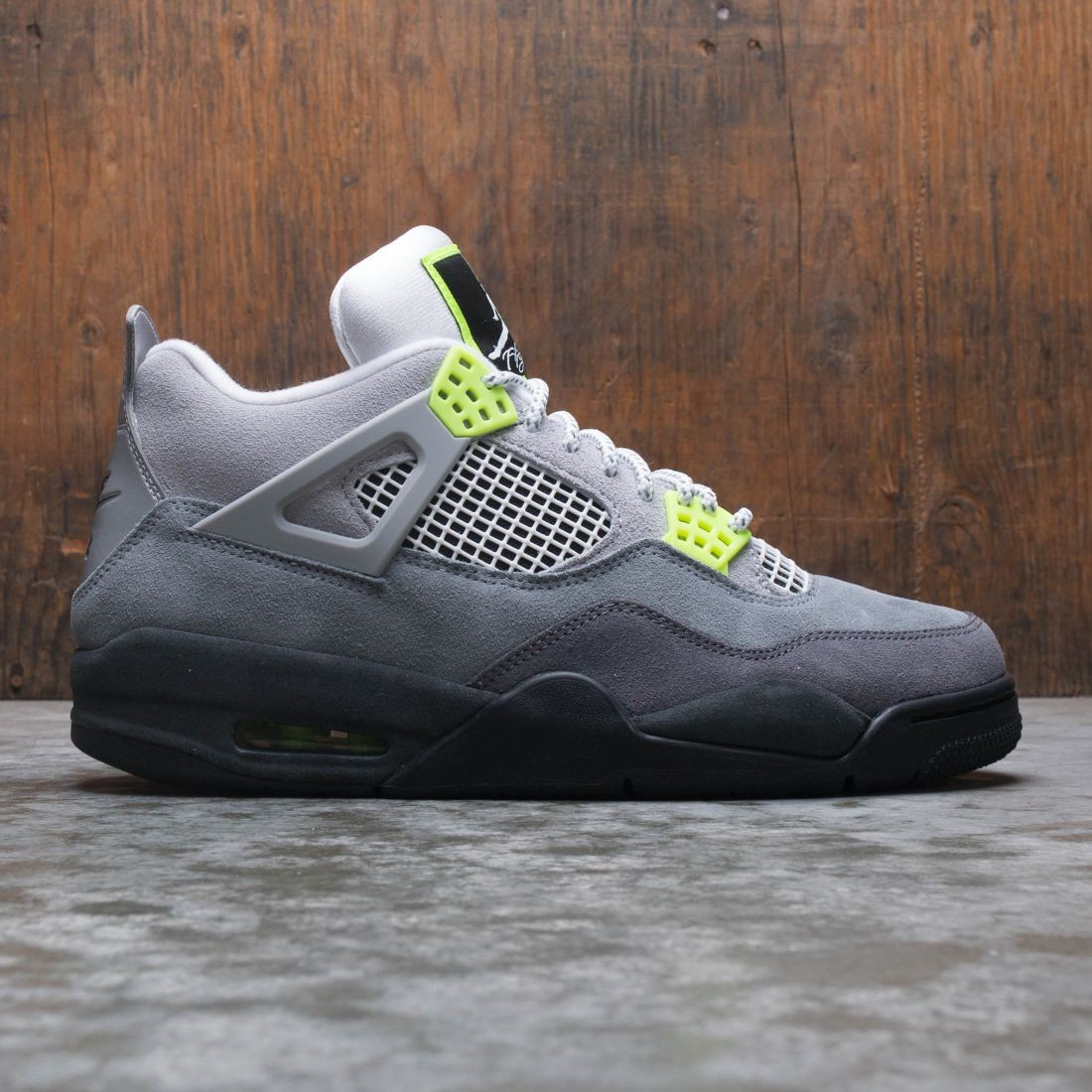 Air Jordan 4 Retro SE Men (cool grey / volt-wolf grey-anthracite)