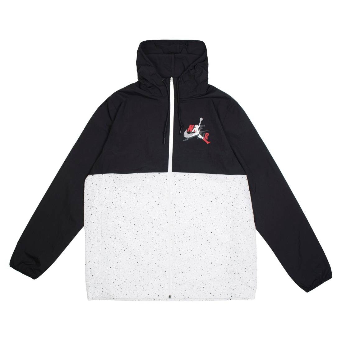 Jordan Men Jumpman Classics Jacket (black / white / white / gym red)