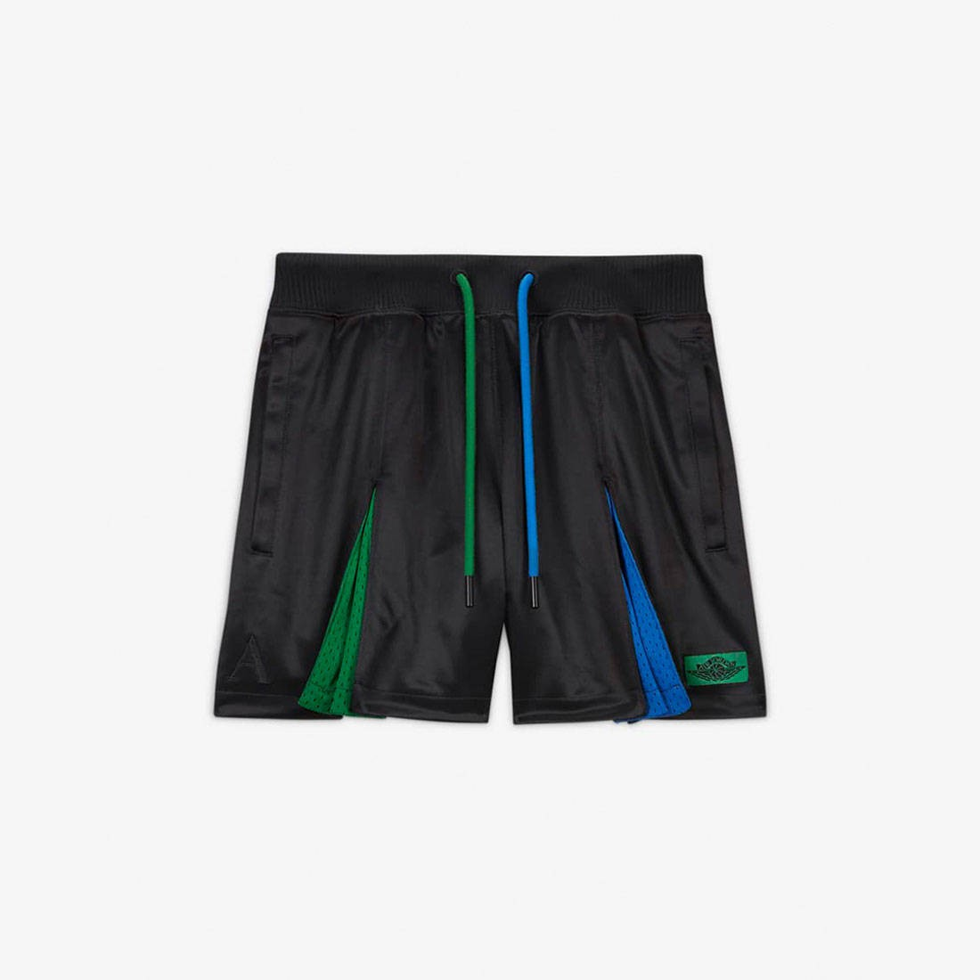 Jordan Women Jordan x Aleali May Pleated Shorts (black / game royal / pine green)