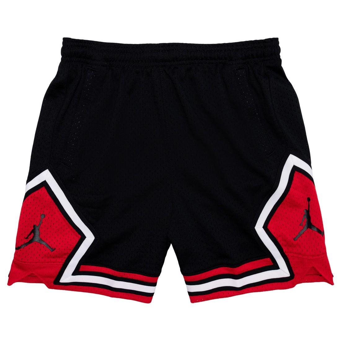 Jordan Women Essential Diamond Shorts (black / university red)
