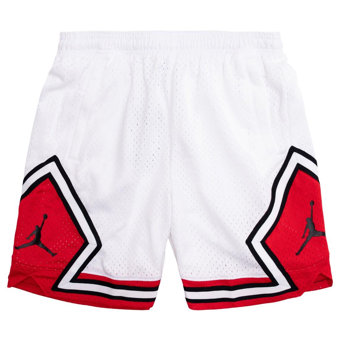 Jordan Women Essential Diamond Shorts (white / university red)