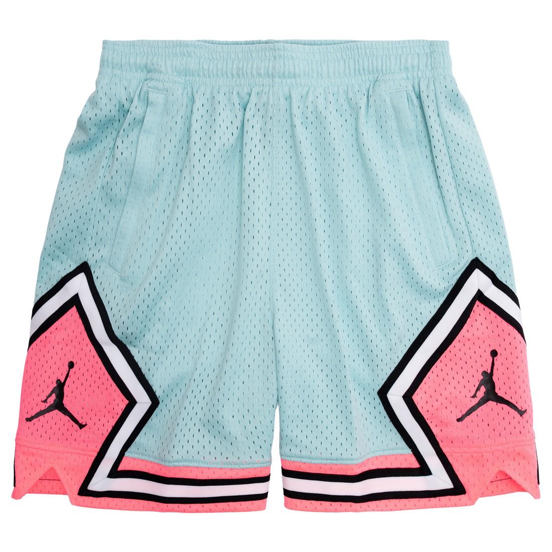Jordan Women Essential Diamond Shorts (light dew / sunset pulse)