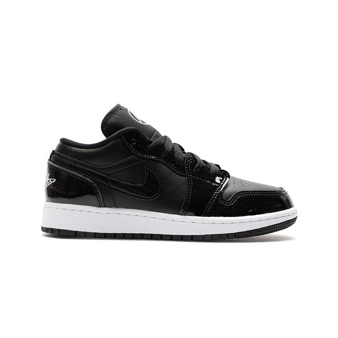 Air Jordan 1 Low SE Big Kids (black / white)