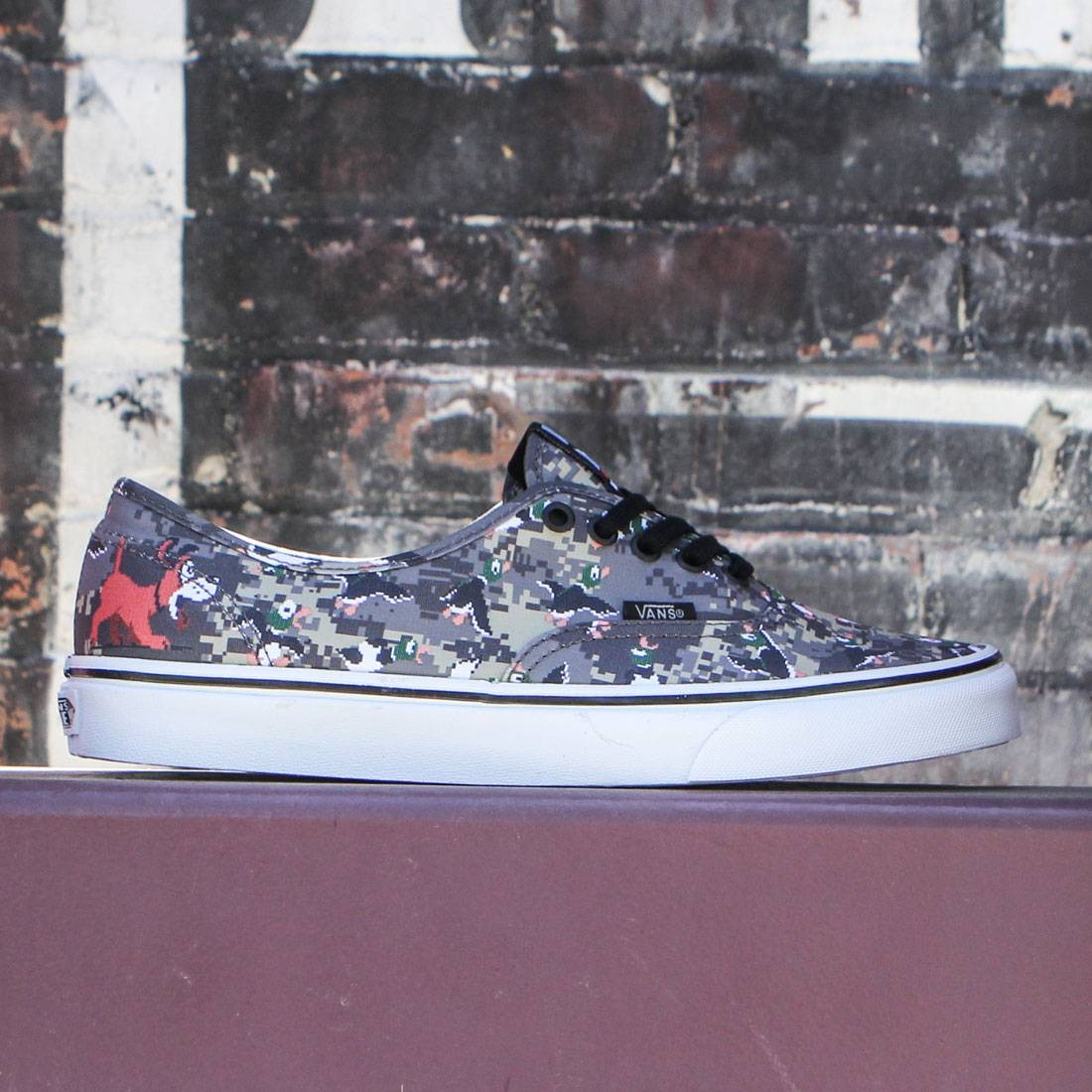 Vans x Nintendo Men Authentic - Duck Hunt (camo)