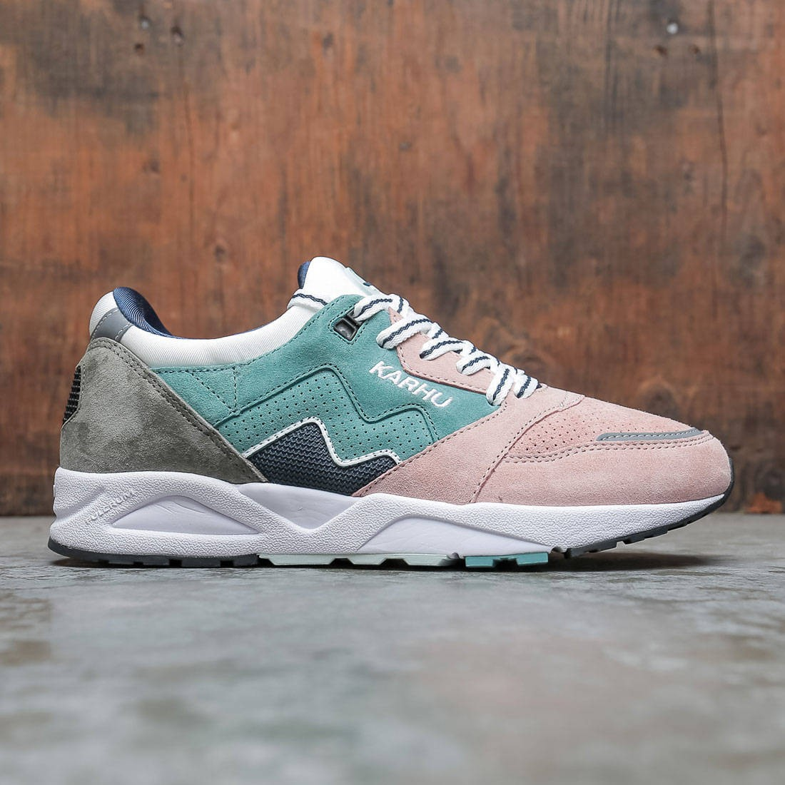 Karhu Men Aria 95 (blue / oil / misty rose)