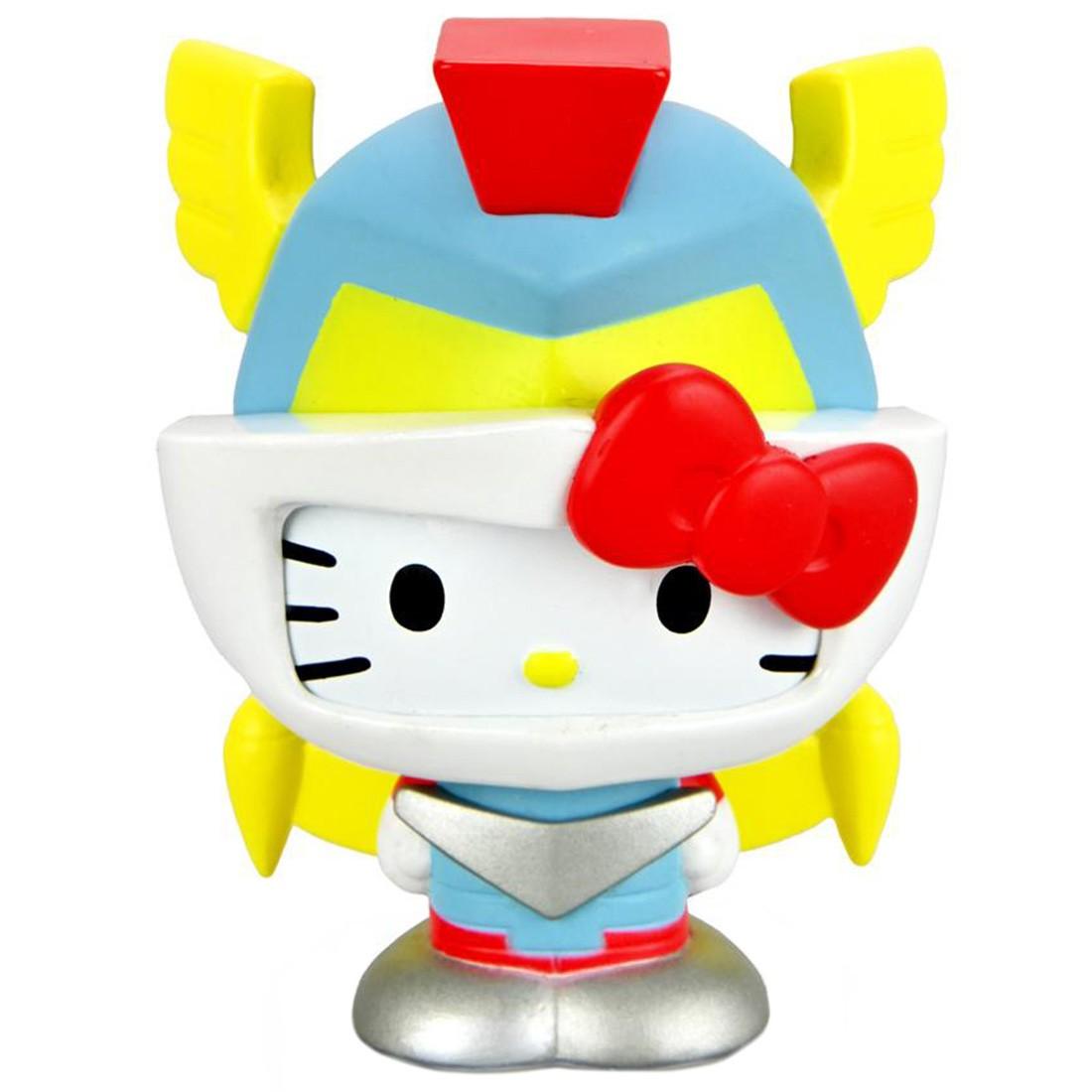 Kidrobot Hello Kitty Kaiju 3 Inch Mini Figure Series - Mechazoar Prime (silver)