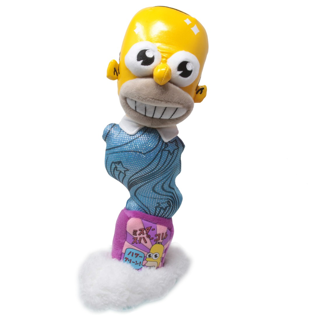 Kidrobot x The Simpsons Mr. Sparkle 11 Inch Plush (blue)