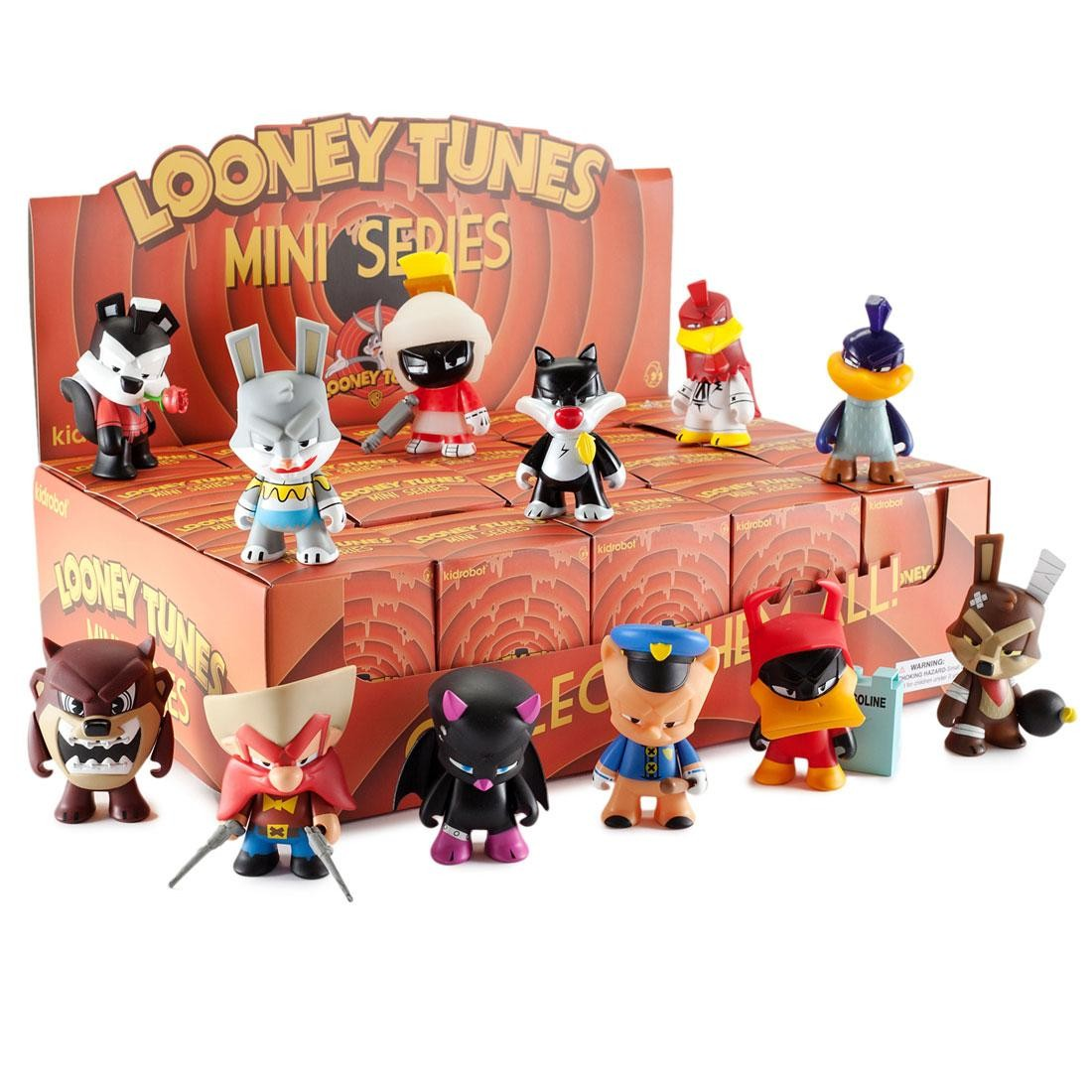 Kidrobot x Warner Bros. Looney Tunes 3in Mini Series Figure - 1 Blind Box