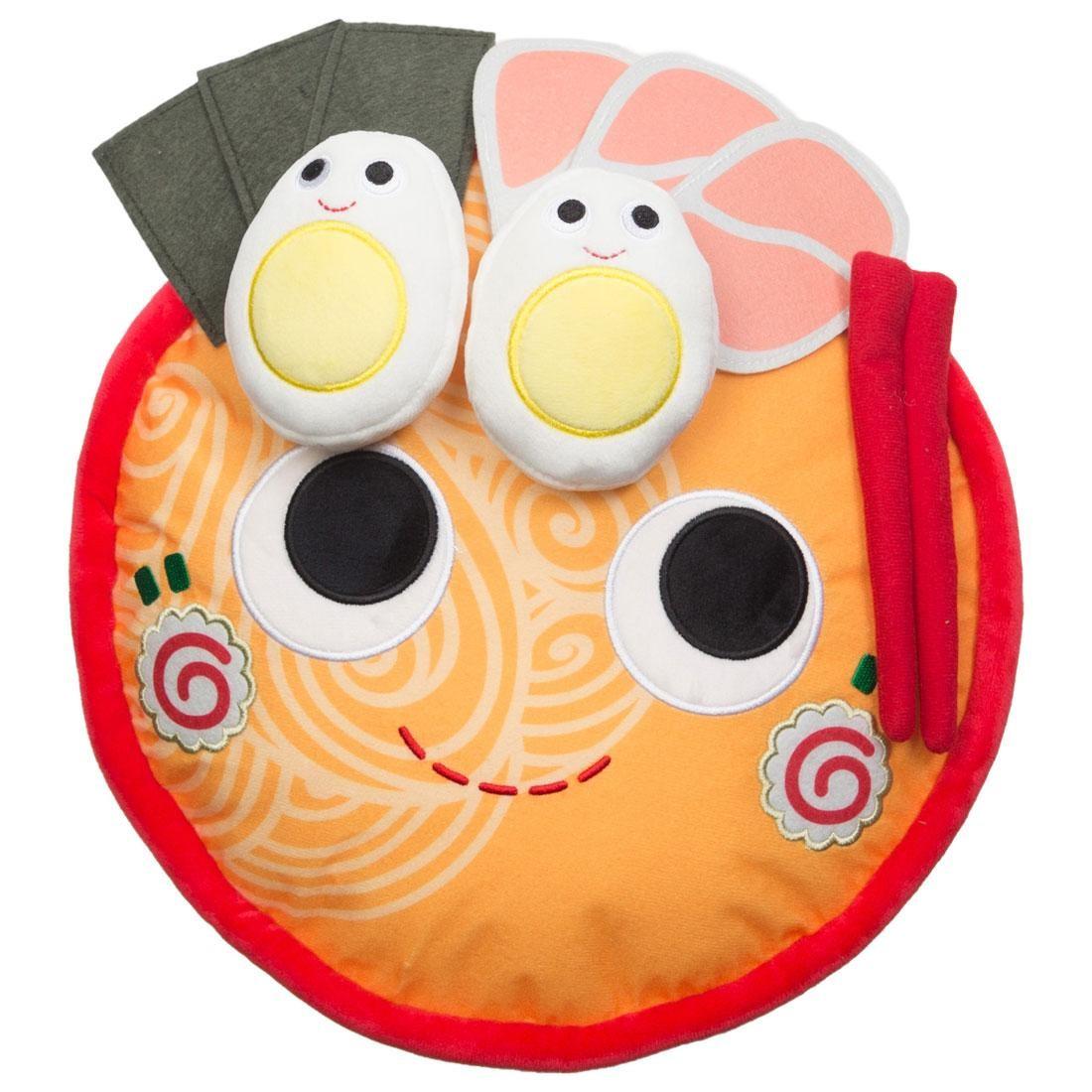 Kidrobot Yummy World Nicole The Ramen Bowl Large Plush (red)