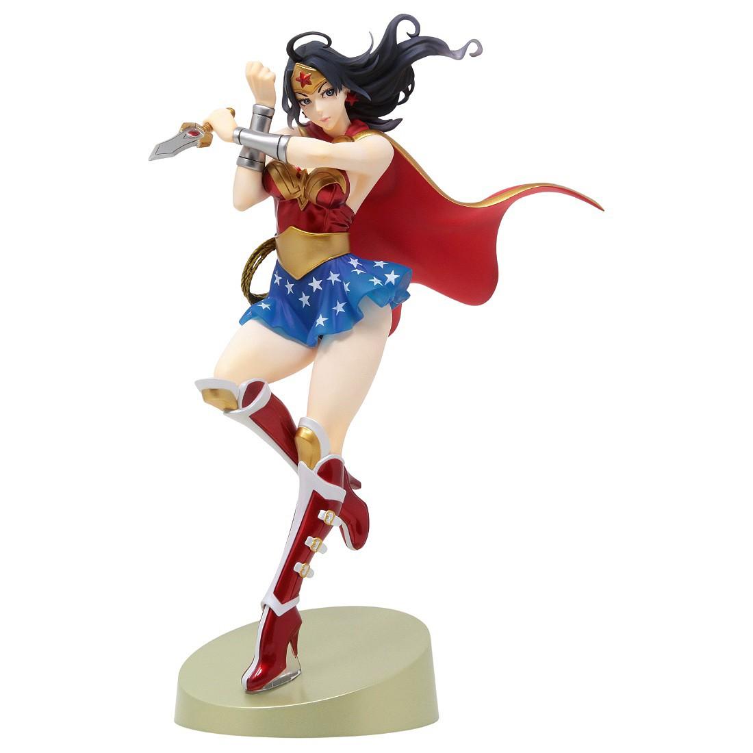 Kotobukiya DC Comics Armored Wonder Woman 2nd Edition Bishoujo Statue (red)