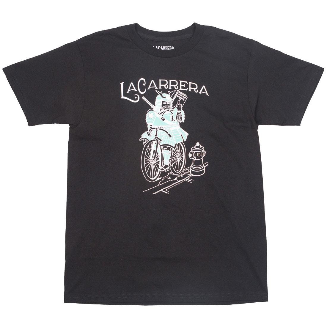 La Carrera Men Samurai King LMNB Tee (black / blue / tiffany)