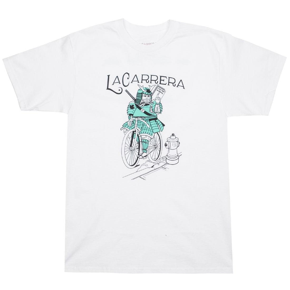 La Carrera Men Samurai King LMNB Tee (white / tiffany)