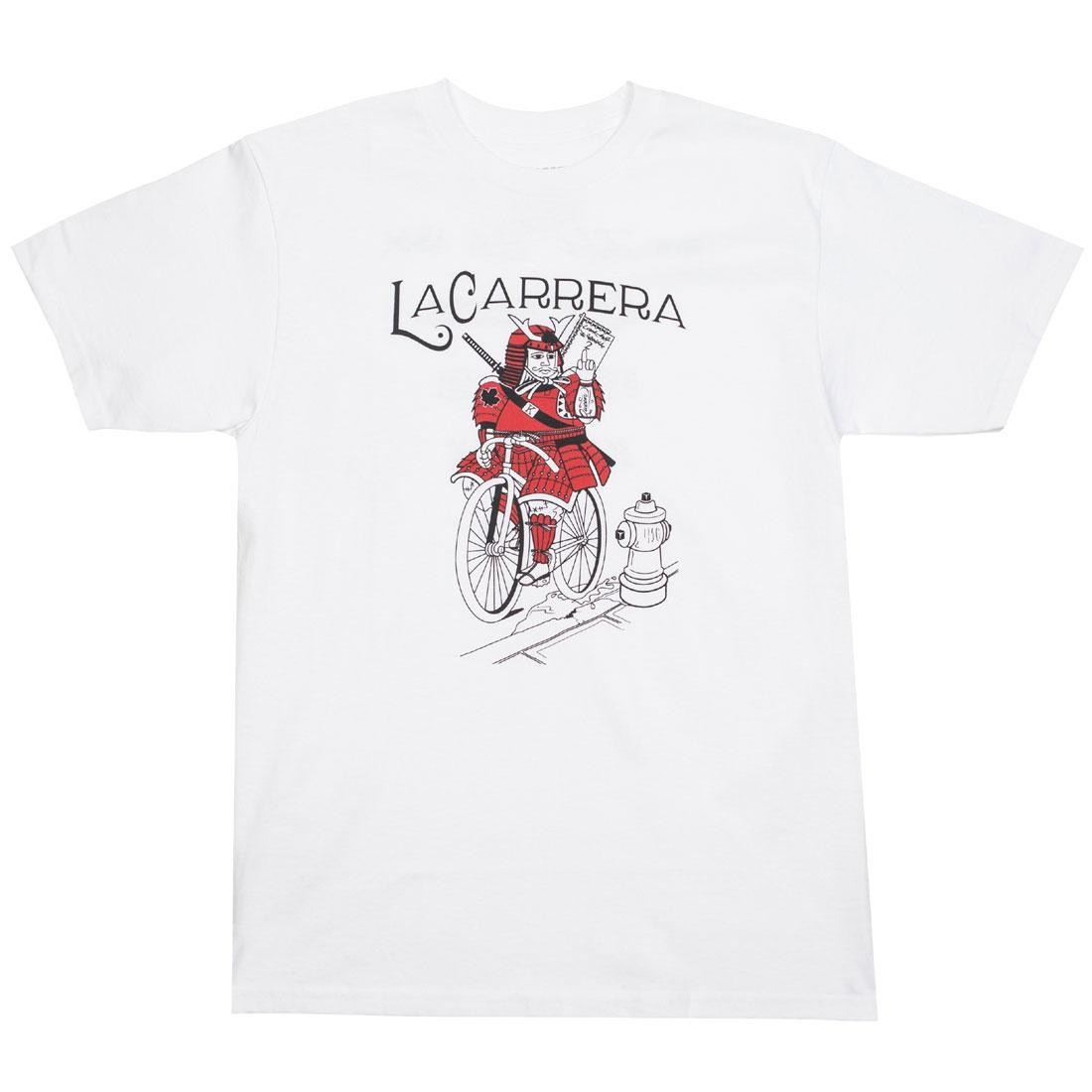 La Carrera Men Samurai King Tee (white)