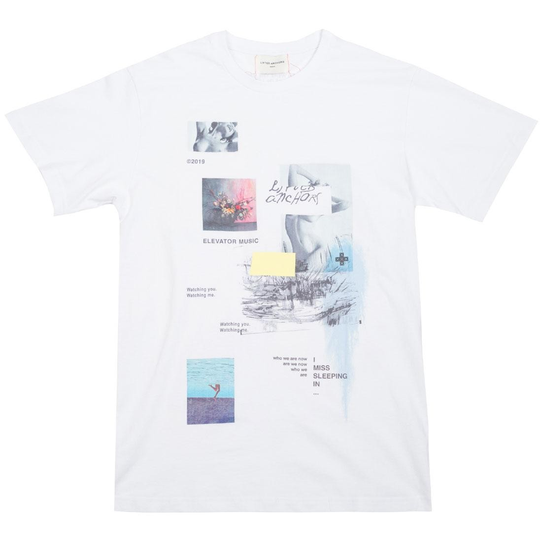 Lifted Anchors Men Gallery Tee (white)