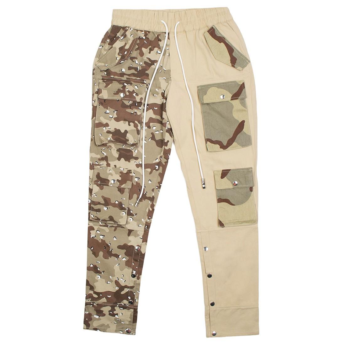 Lifted Anchors Men Harington Split Camo Pants (khaki / tan)