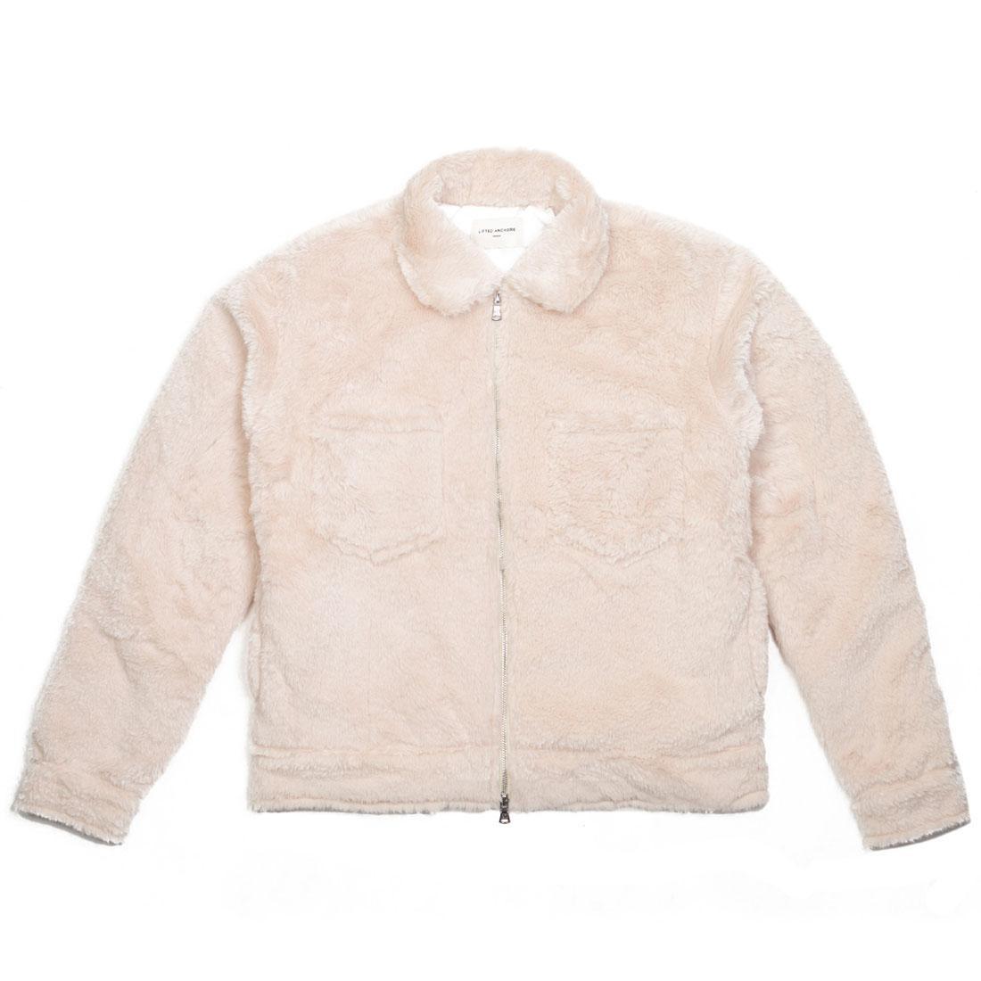 Lifted Anchors Men Fowe Jacket (white / tan)