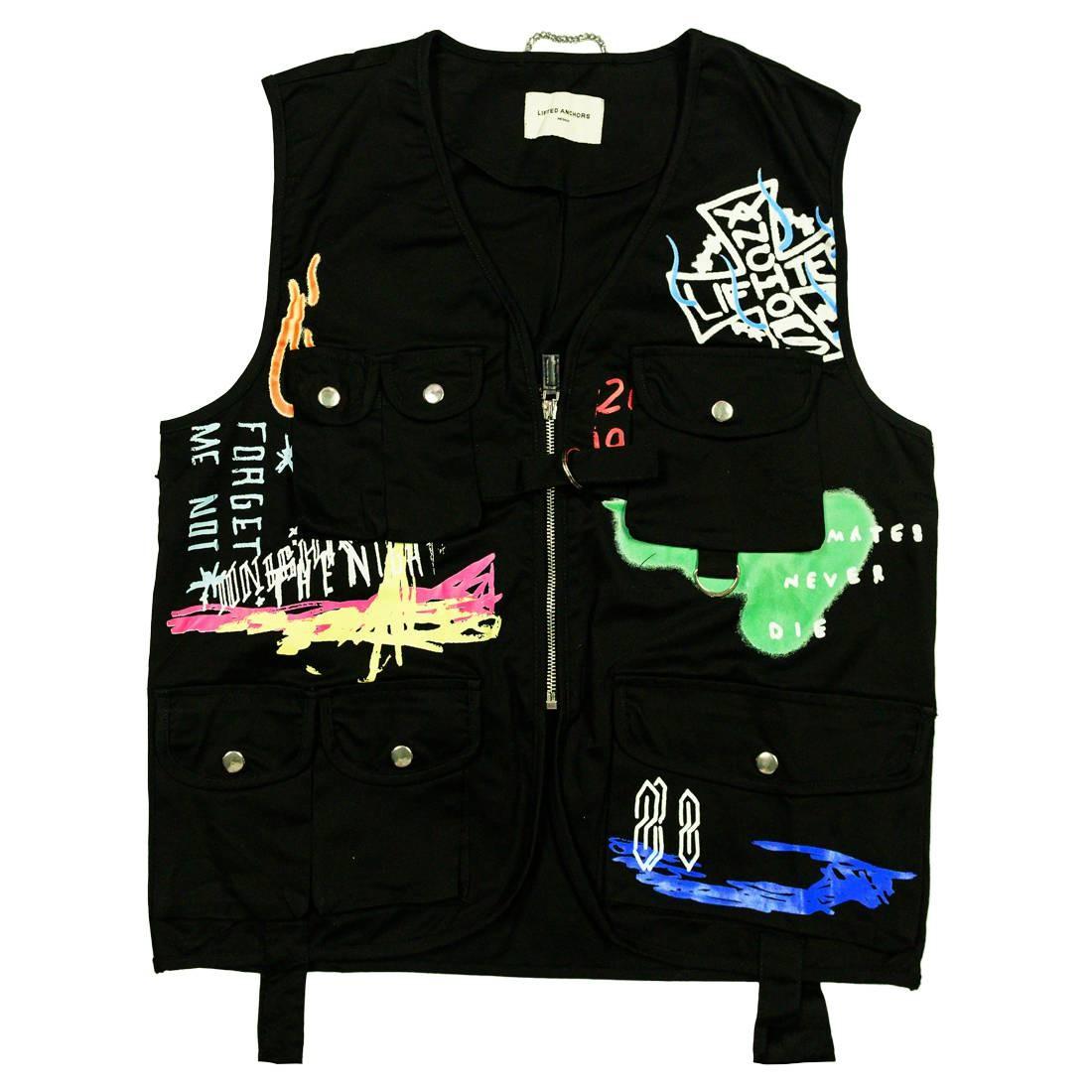 Lifted Anchors Men Santana Vest (black)