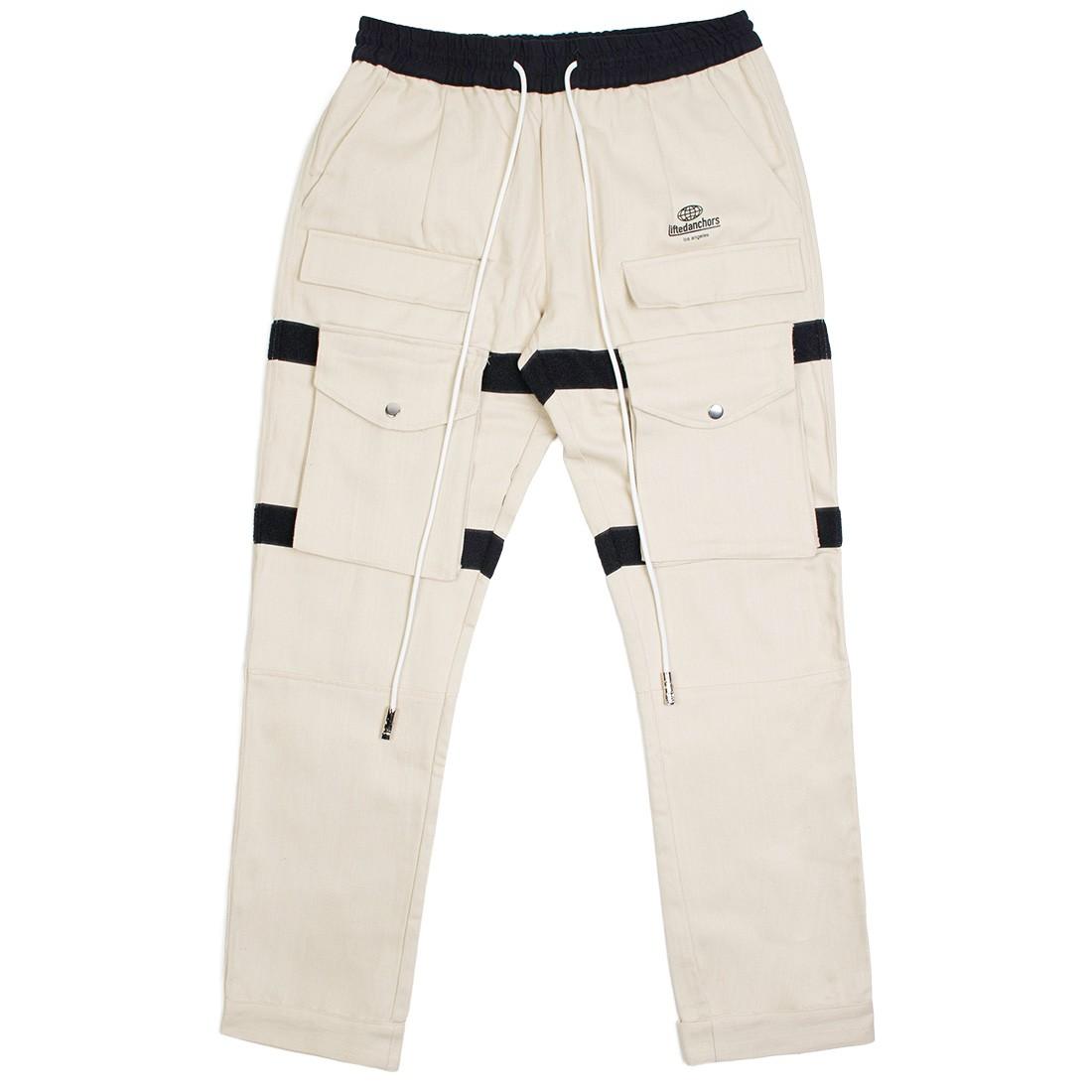 Lifted Anchors Men Turner Velcro Cargo Pants (khaki)