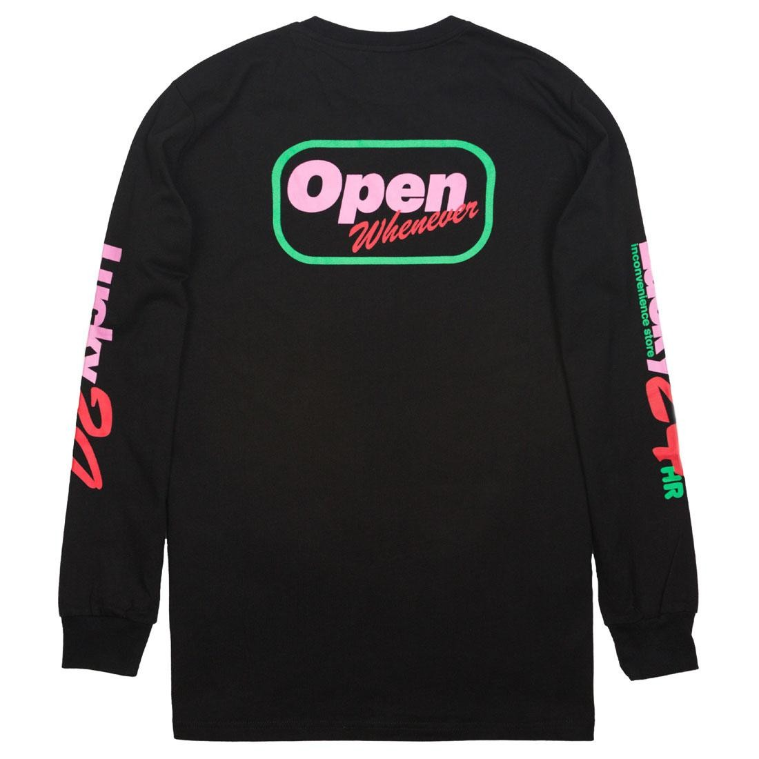 Lazy Oaf x Sailey Men Long Sleeve Tee (black)
