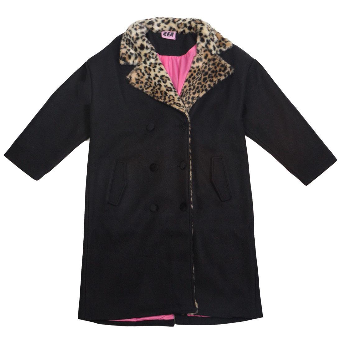 Lazy Oaf Women Screw You Oversized Coat (black)