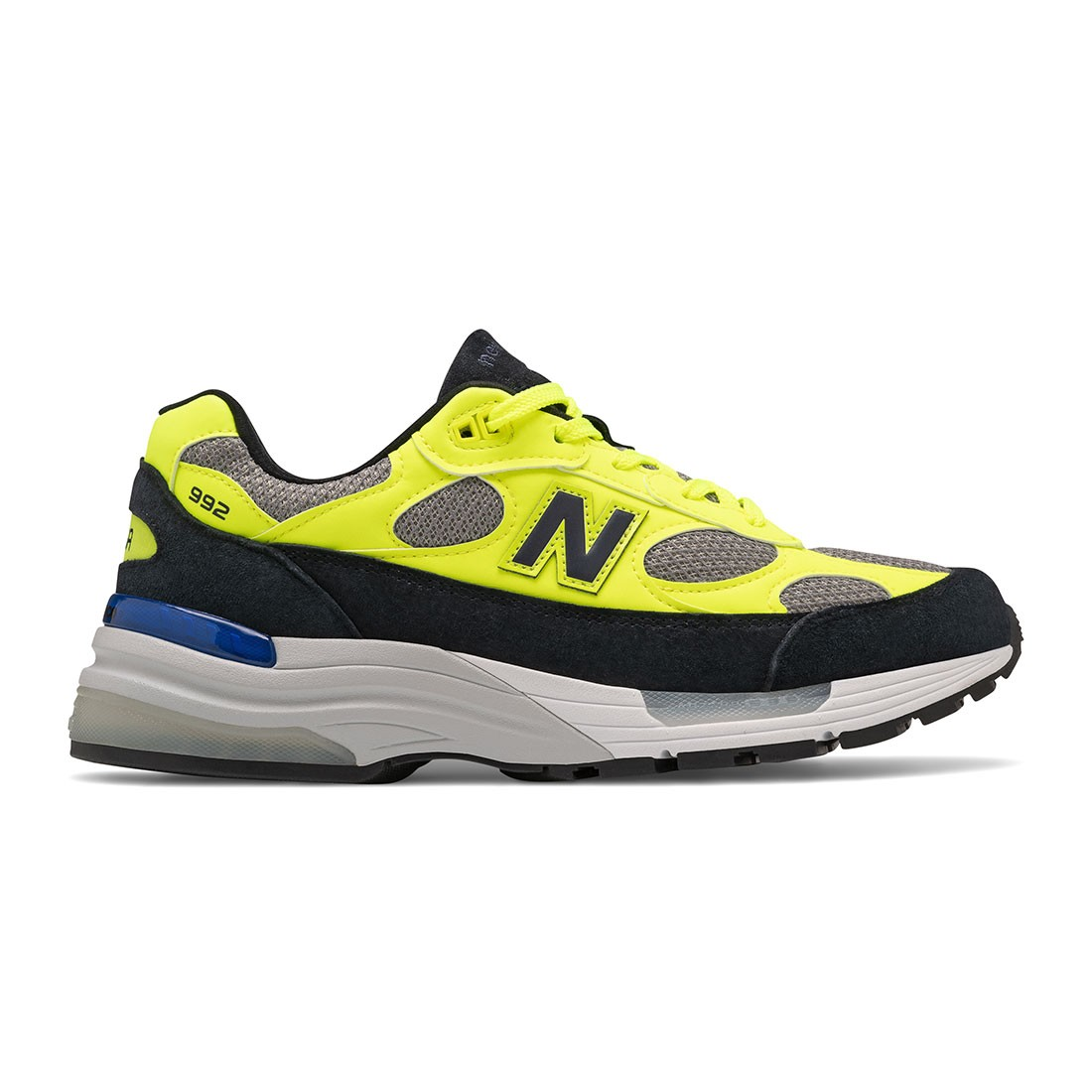 New Balance Men 992 M992AF - Made In USA (yellow / navy)