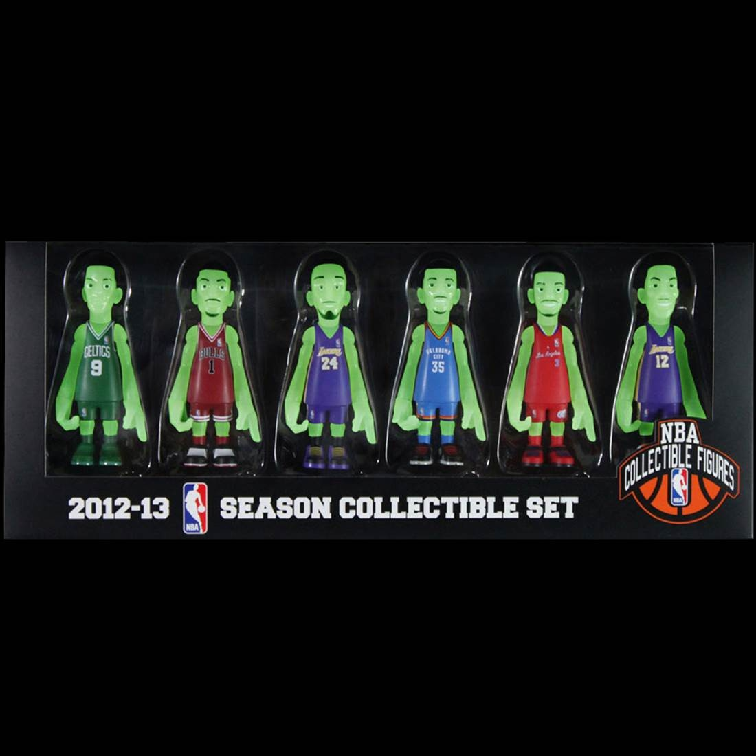 BAIT Exclusive NBA x CoolRain 2012-13 Season Collectible Set - Glow In The Dark (multi)
