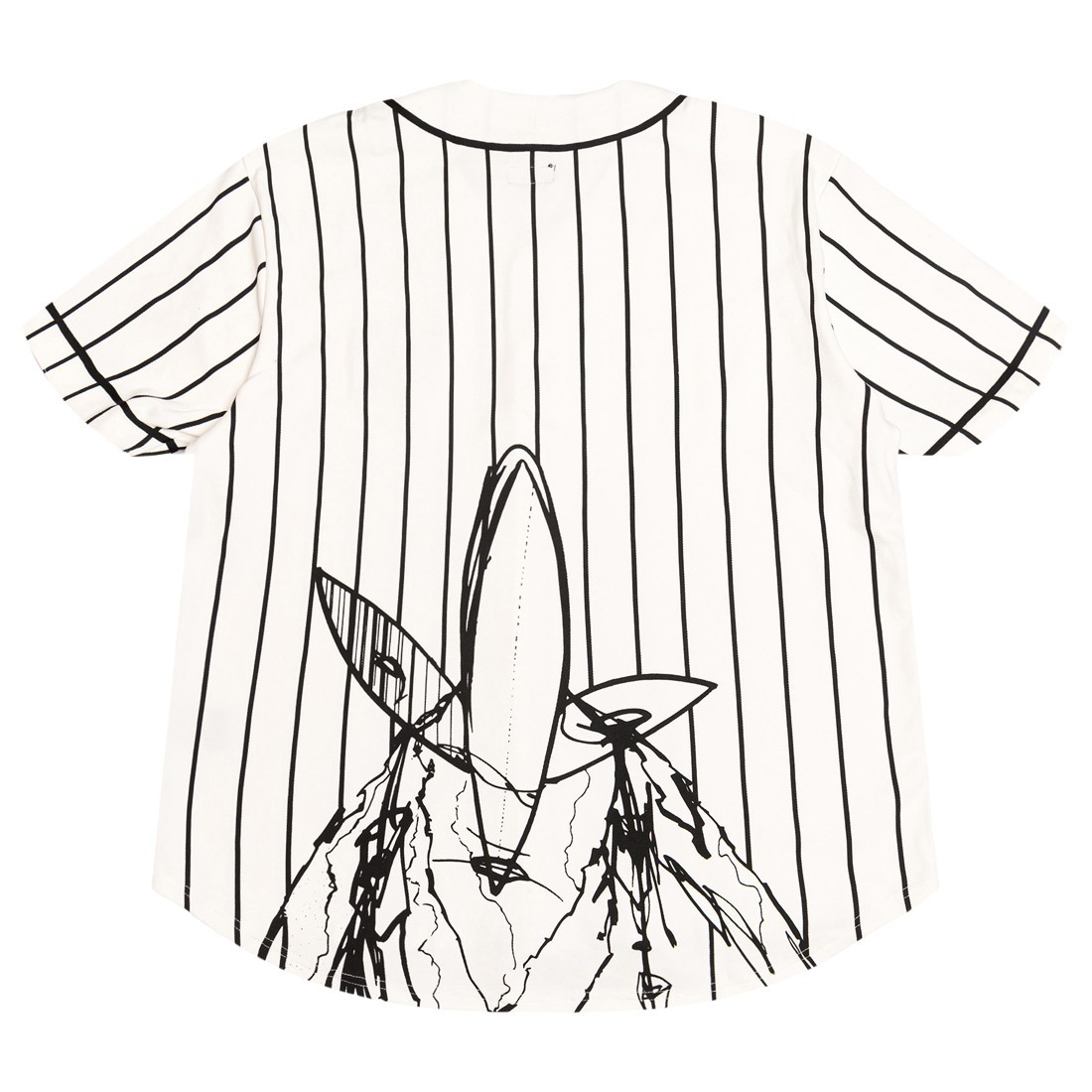 Futura Laboratories Men Pointman Baseball Jersey (white)