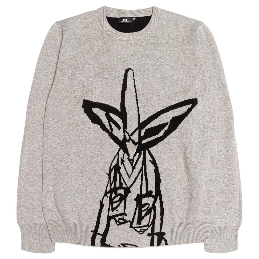 Futura Laboratories Men Pointman Knit Sweater (gray)