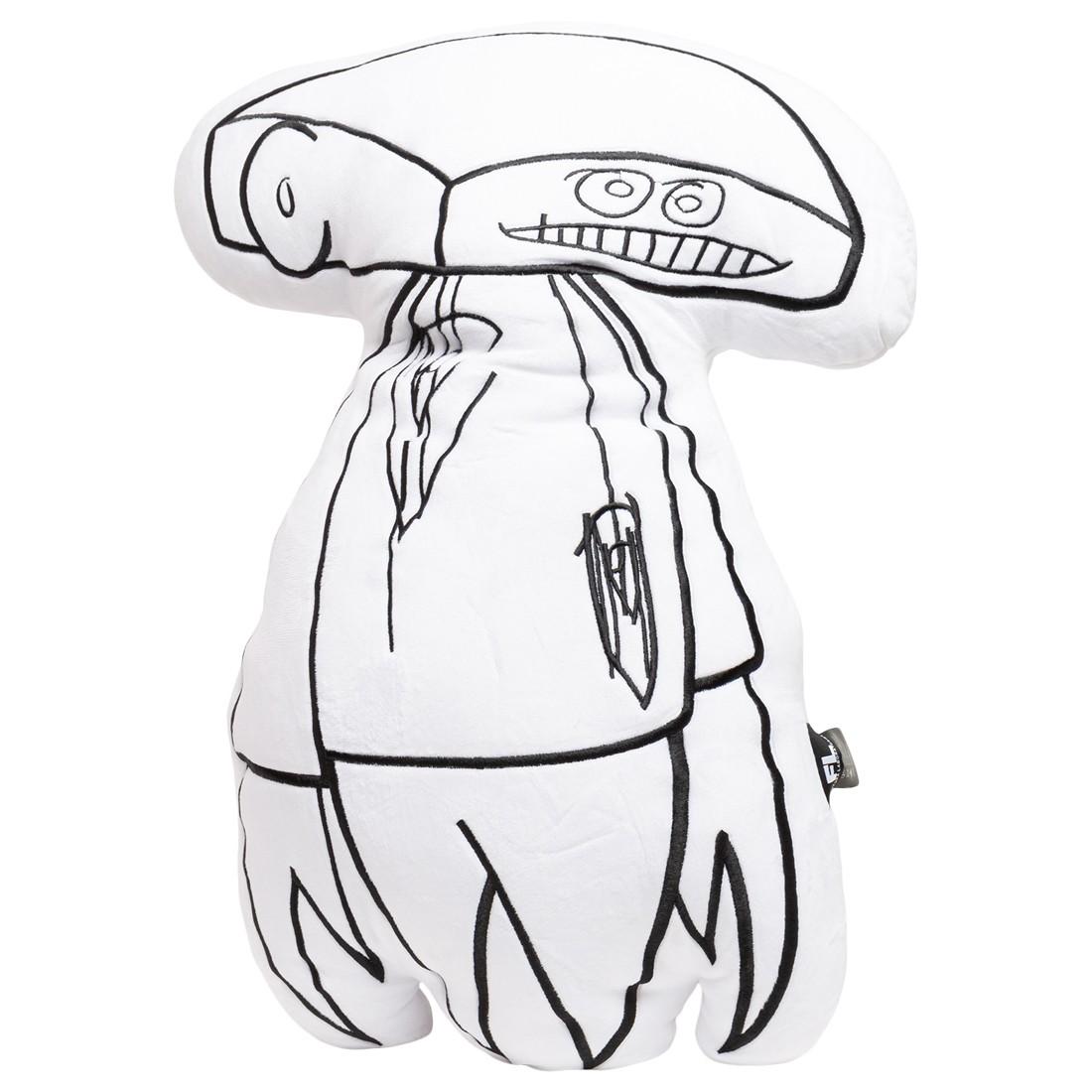 Futura Laboratories Johnny Plush Cushion (white)