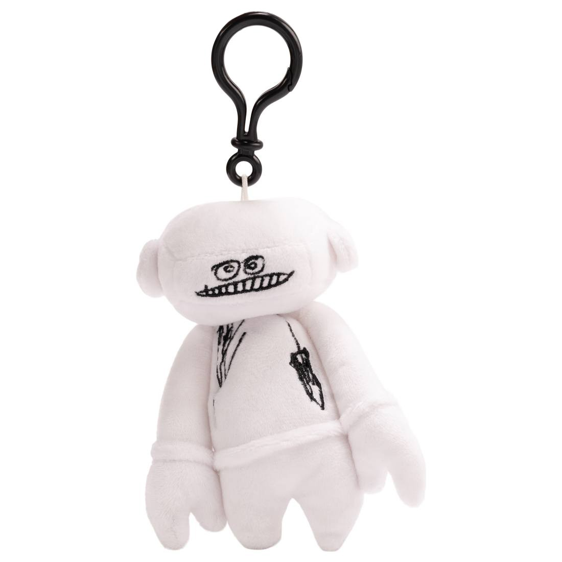 Futura Laboratories Johnny Plush Keychain (white)