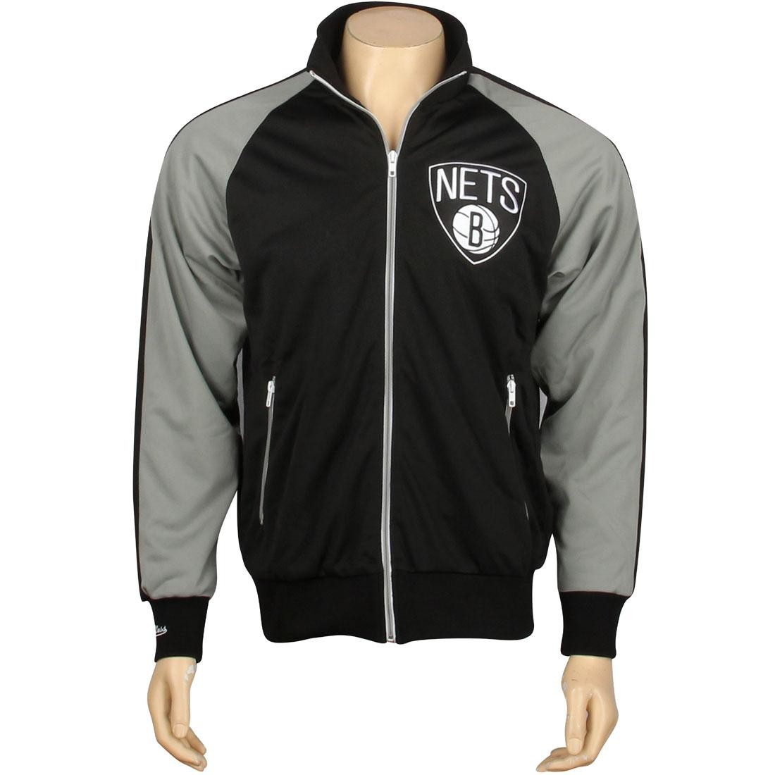 Mitchell And Ness Brooklyn Nets NBA Backboard Jacket (black)