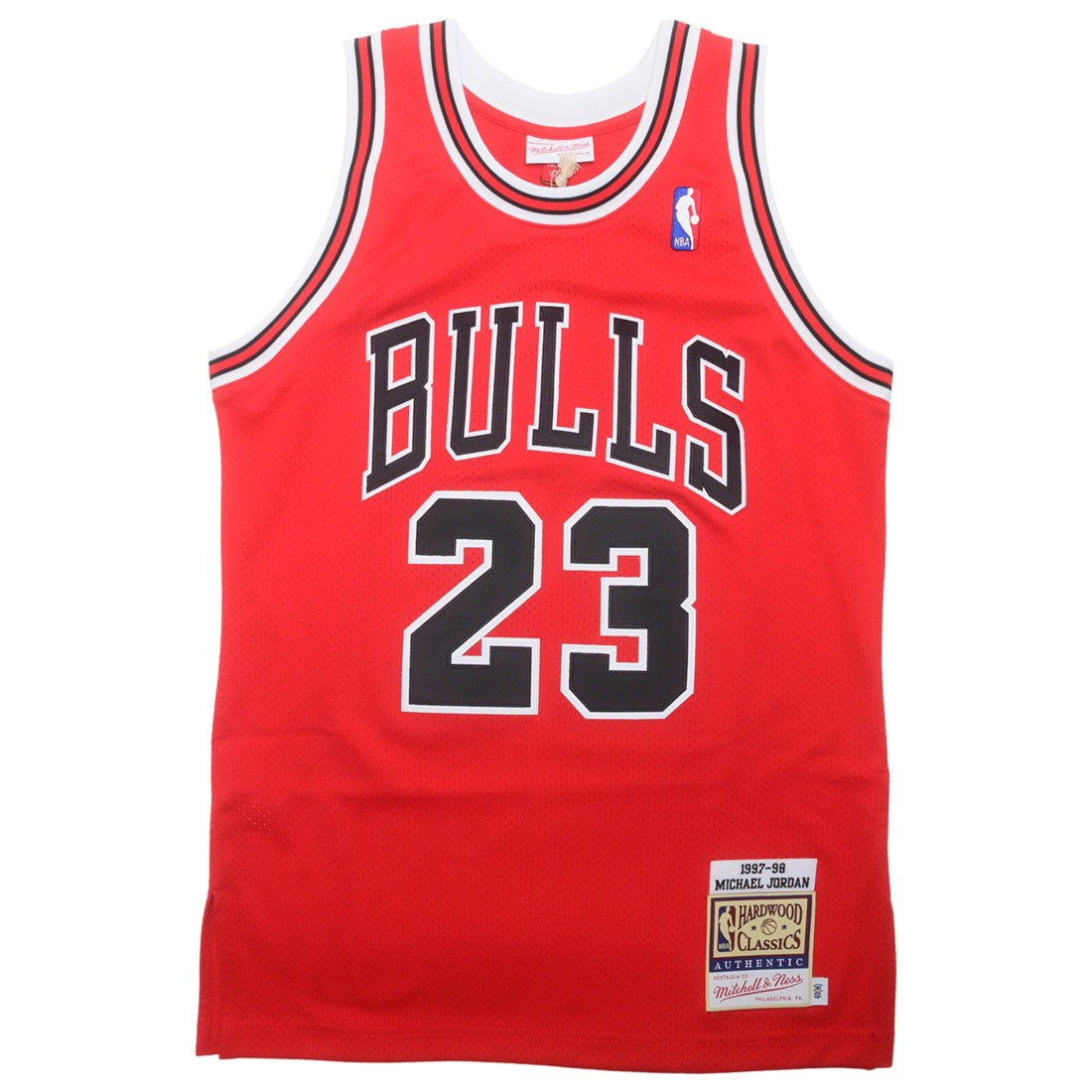 Mitchell And Ness x NBA Men Chicago Bulls Michael Jordan Jersey - Road 97 (black)