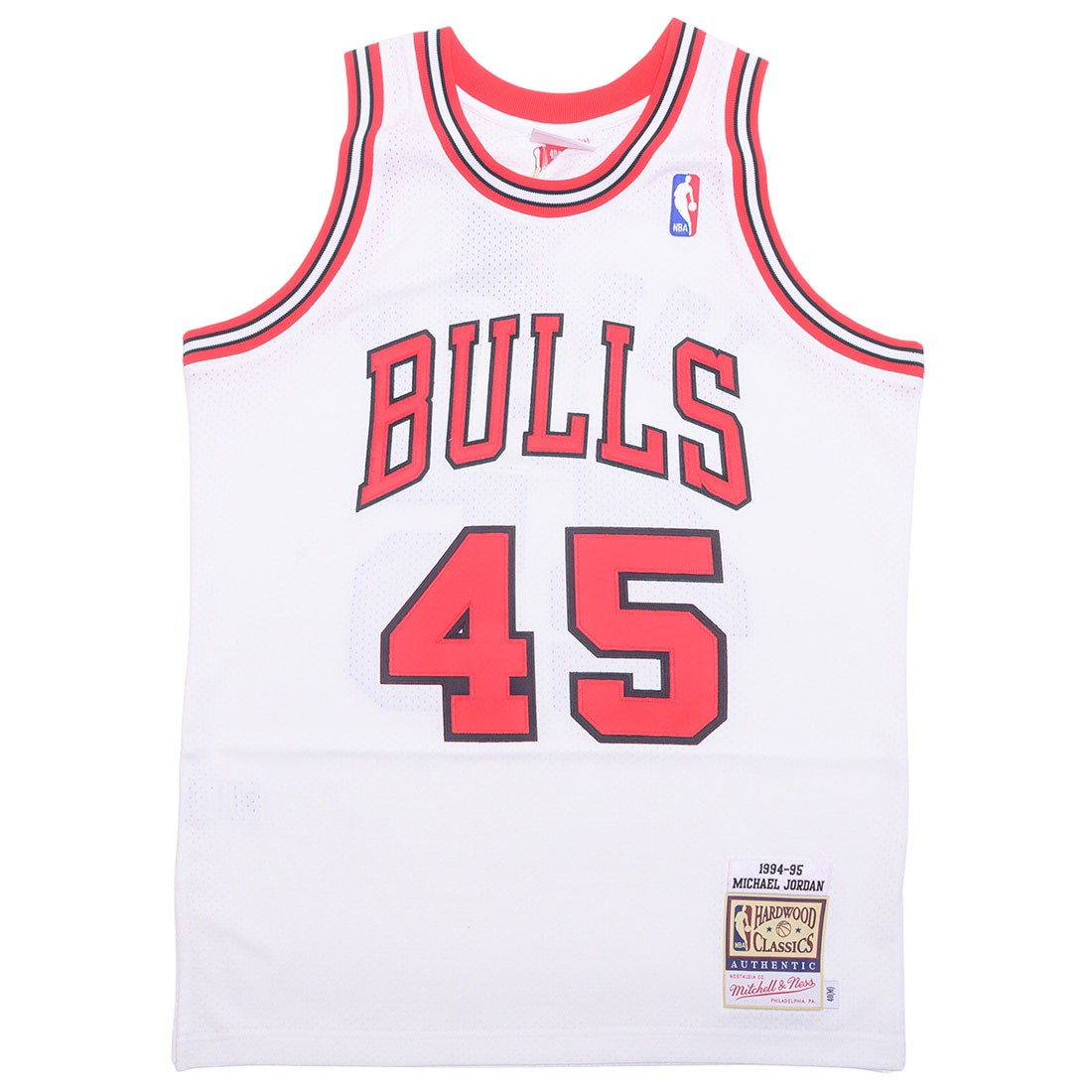 Mitchell And Ness x NBA Men Chicago Bulls Michael Jordan Jersey - White 94 (white)