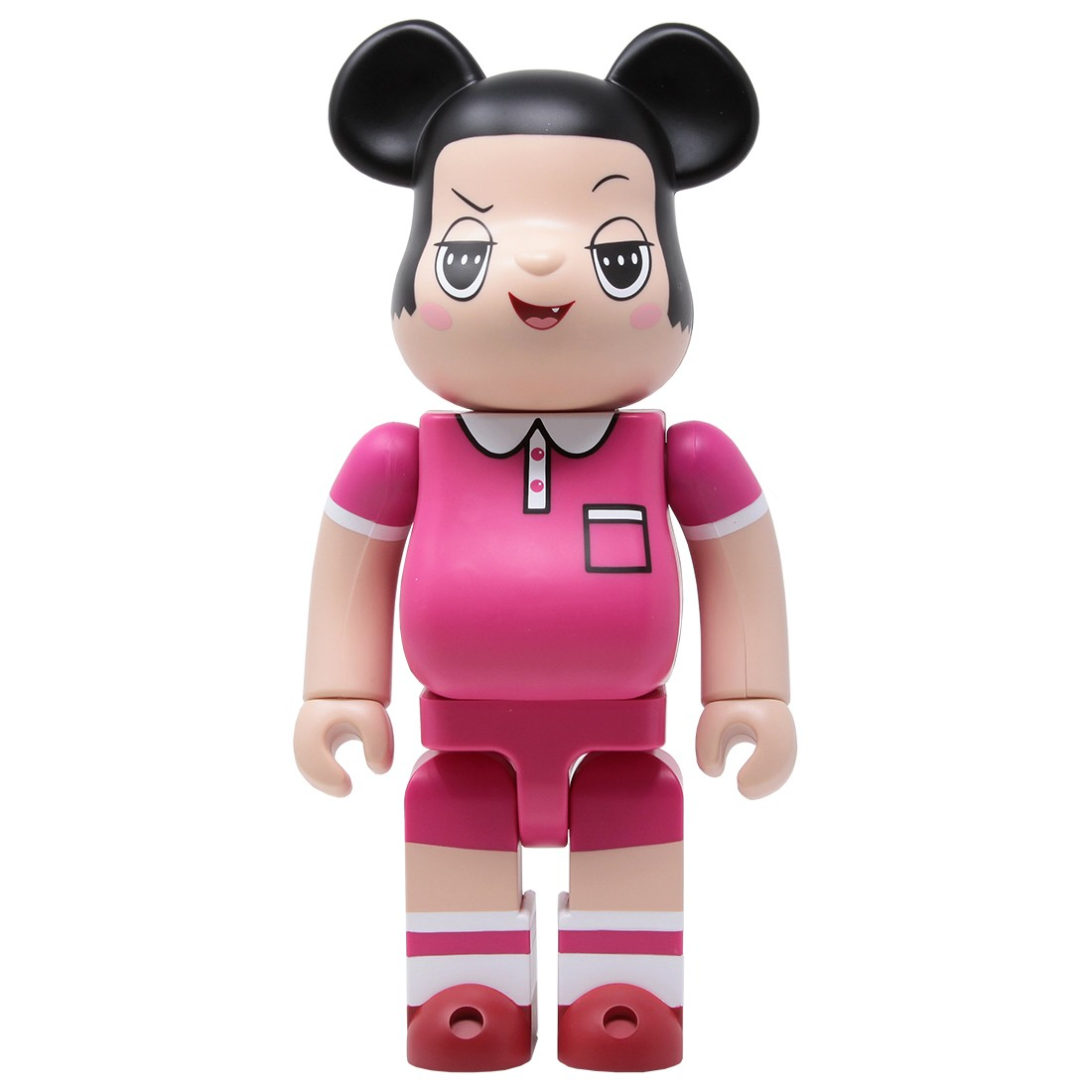 Medicom Chico Chan 400% Bearbrick Figure (pink)