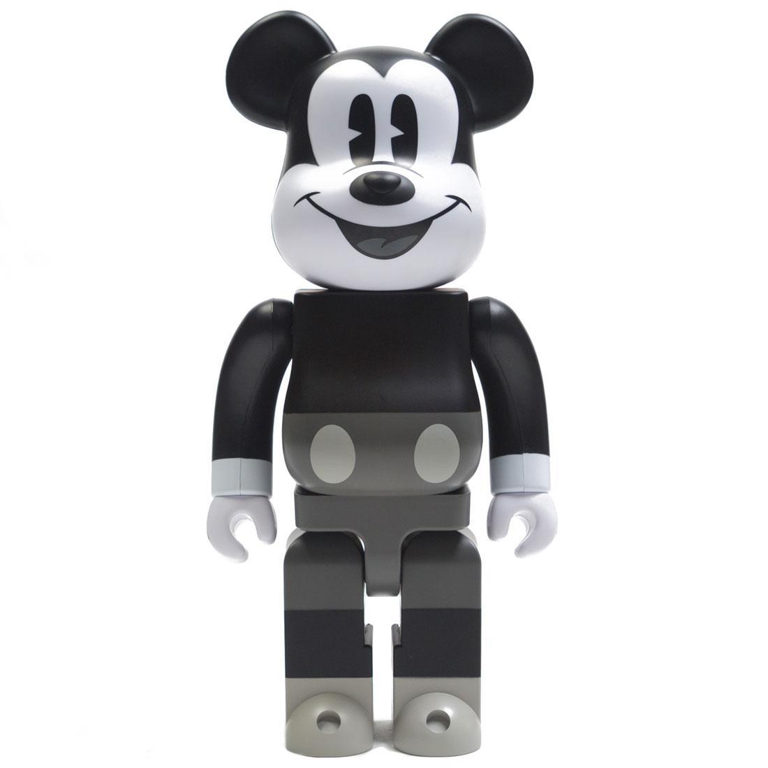 Medicom Disney Mickey Mouse Black And White Ver 400% Bearbrick Figure (black / white)