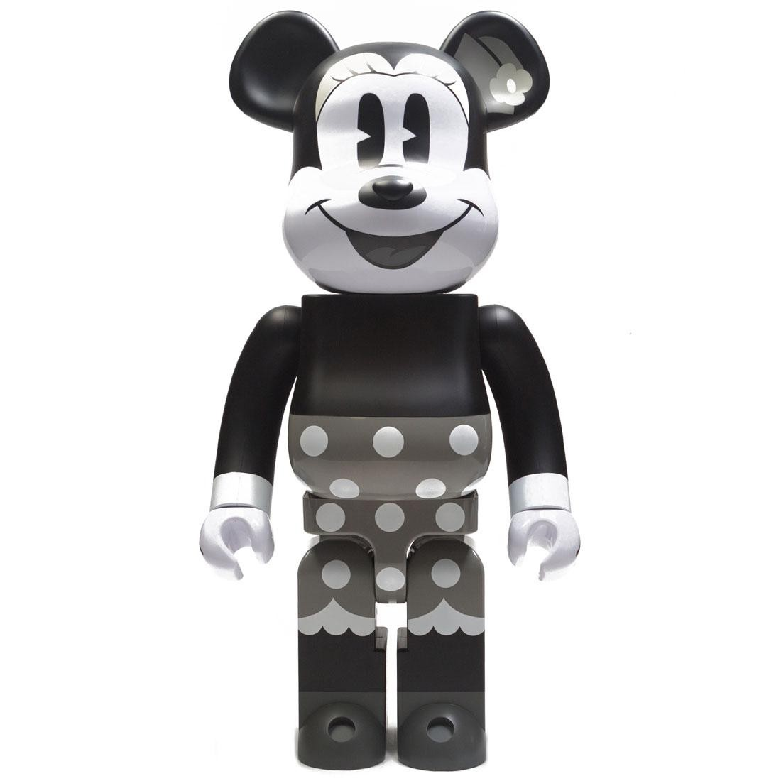 Medicom Disney Minnie Mouse Black And White Ver 1000% Bearbrick Figure (black / white)