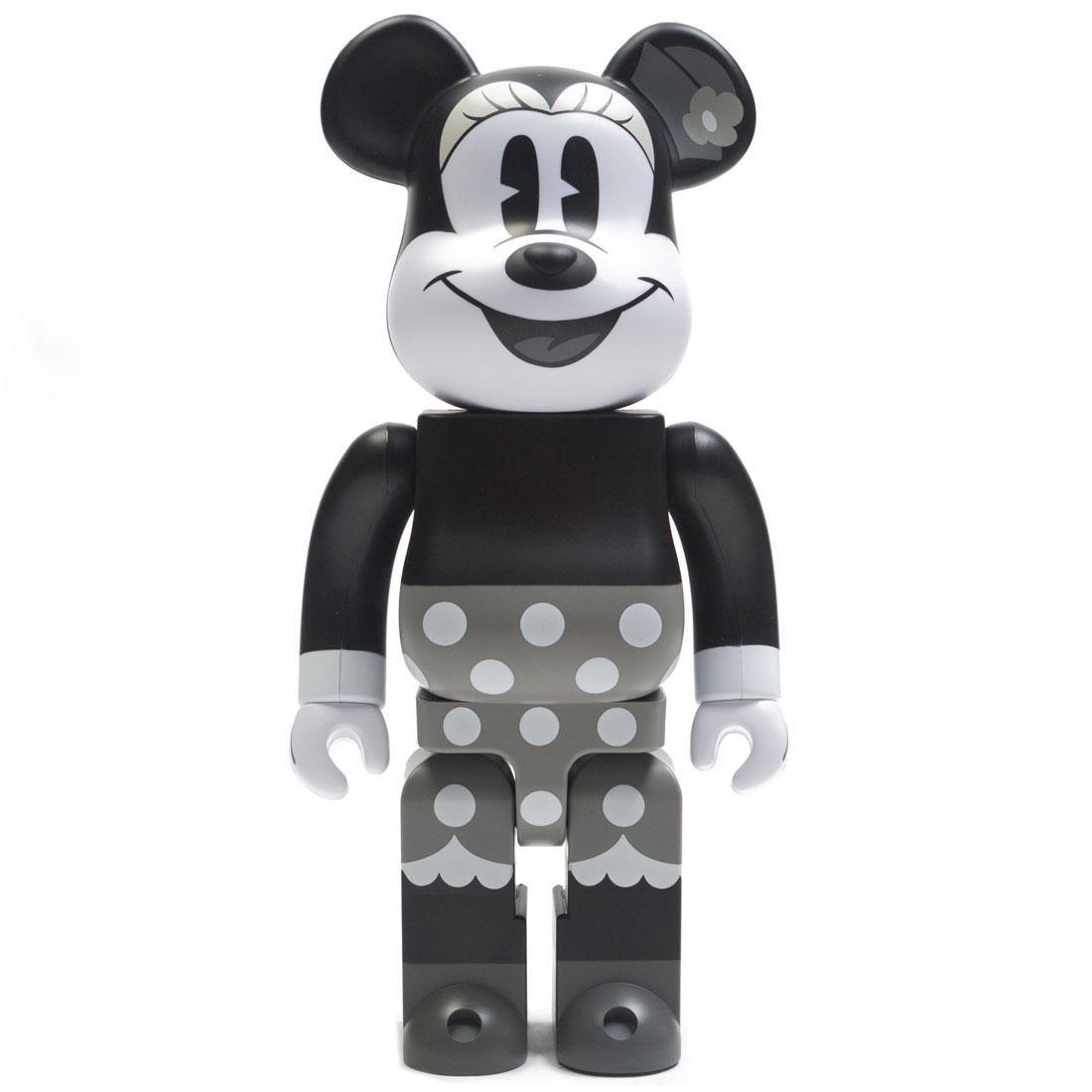 Medicom Disney Minnie Mouse Black And White Ver 400% Bearbrick Figure (black / white)