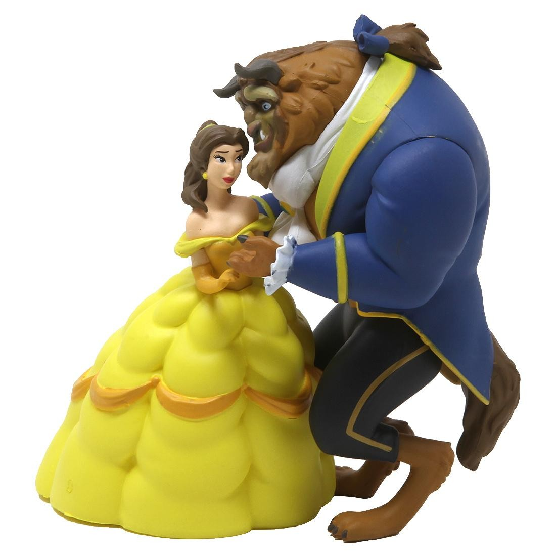 Medicom UDF Disney Series 7 Beauty And The Beast Belle And Beast Ultra Detail Figure (yellow)
